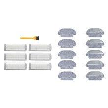 Trapos hepa filtro escova & para xiaomi mijia styj02ym conga 3490 viomi v2 pro V-RVCLM21B filtro hepa