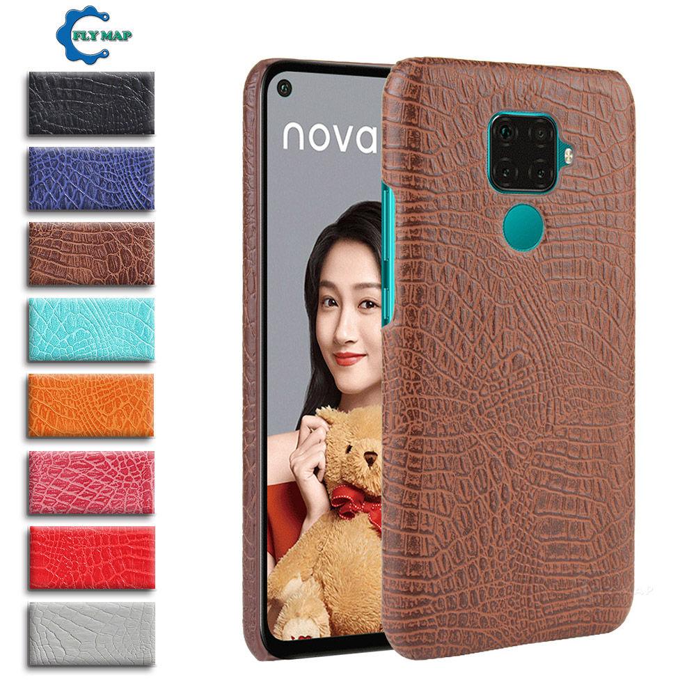 Krokodil Fall für Huawei NOVA 5Z 5i Pro Harte Haut Schutz Telefon Abdeckung Coque Nova5 Z ich SPN-L09 SPN-L29 SPN l09 L29 TL00 AL00