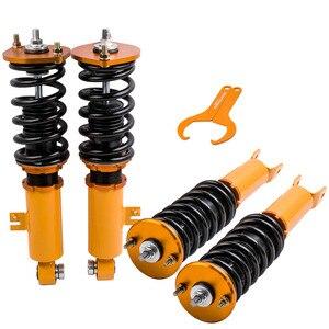 Image 2 - Coilover амортизаторы с регулируемой высотой, амортизирующие стойки для Nissan Z32 300ZX, пружинные амортизаторы
