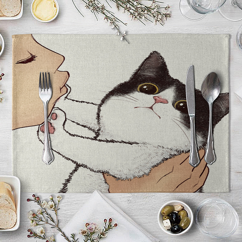 Cat table placemats