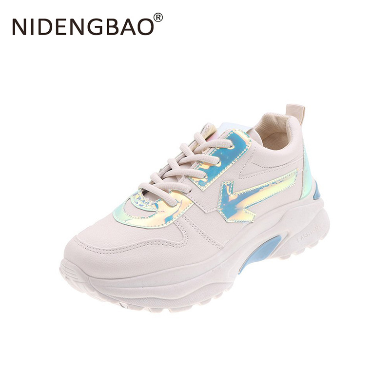 Running Shoes Woman Autumn Comfortable Waterproof Breathable Flats Female Platform Sneakers Walking Gym Jogging Trainer