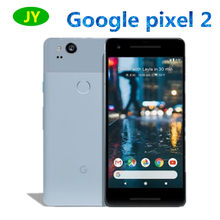 Original versão da ue google pixel 2 128gb smartphone snapdragon 835 octa núcleo 4gb 64gb impressão digital 4g lte telefone móvel
