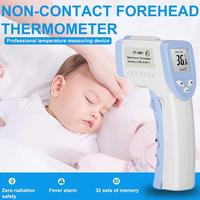 CE Certification Non Contact Infrared Forehead Thermometer Medical Forehead Thermometer for Baby Kids and Adults Diagnostic Tool
