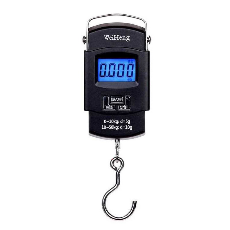 15g/&50kg Portable Electronic Scales Digital LCD Fishing Hanging Luggage Weighing