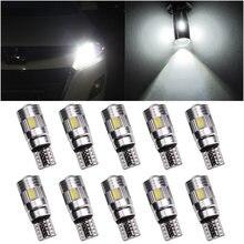 2 шт t10 w5w светодиодный автомобильные лампочки canbus Авто