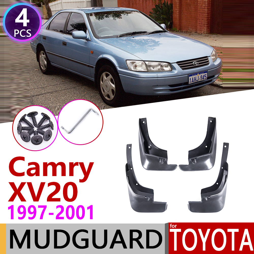 Front Rear Car Mudflap For Toyota Camry XV20 20 1997~2001 Fender Mud Flaps Guard Splash Flap Mudguard Accessories 1998 1999 2000