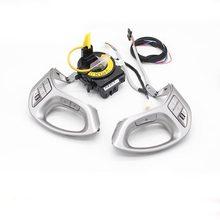 Многофункциональная кнопка рулевого колеса для 11-15 Hyundai ix35 TUCSON, автомобильные кнопки круиз-контроля с bluetooth-кнопкой и проводом