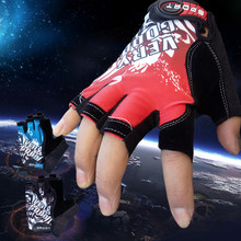 Cycling-Gloves Bicycle Half-Finger Women Bike Mtb Anti-Slip Fitness-Training Outdoor