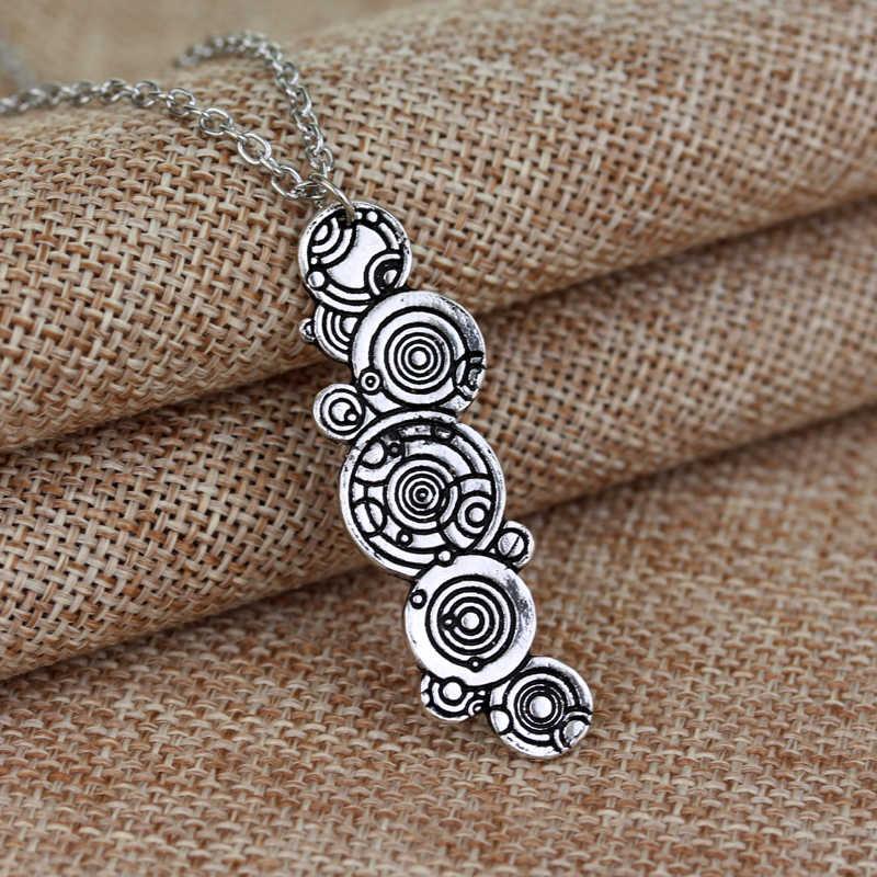 Sherlock/Doctor Who/Dr. Mysterious Necklace Men Women Movie Prop Accessories Box House Pendants Necklaces