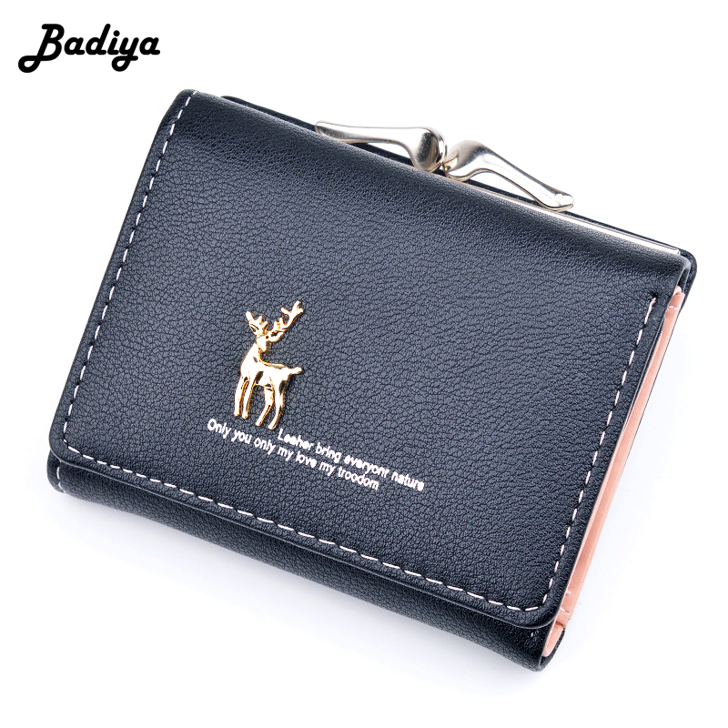 New Arrival Women Small Wallet Brief Lovely Animal Short Card Holder Cute Girls Fashion Pocket Lady Coin Purse Mini Clutch Bag
