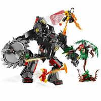 Bela 11234 Batman Mech vs. Poison Ivy Mech DC Super Hero Building Block Bricks Toys Compatible With Movie 76117