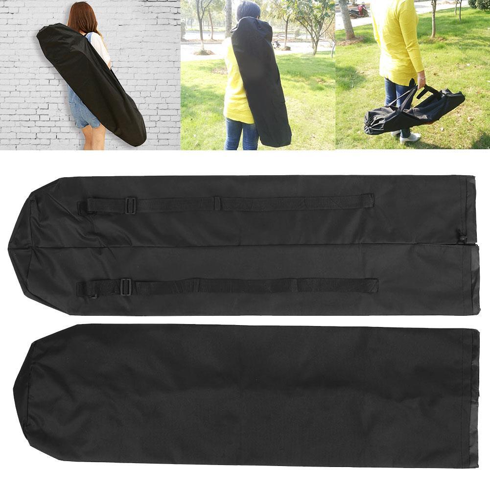 Mochila de mochila impermeable deportiva de nailon Longboard Skateboard
