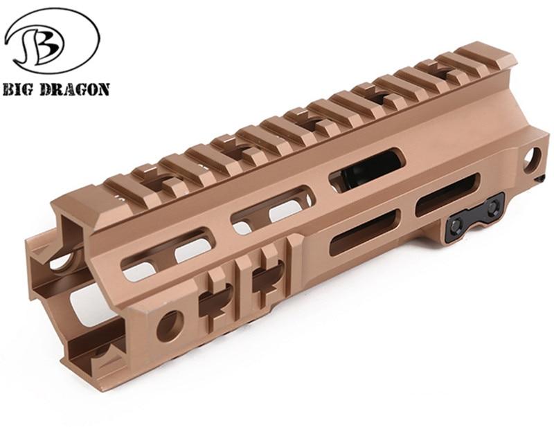 MK4 Free Float M-Lock  Handguard Picatinny Protector Kartini Quad Rail Base Rifle Scope Mount Bracket Forend Barrel Nut
