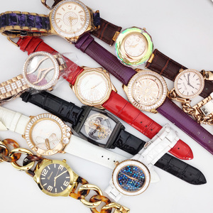 SALE! Defects Scratches Exhibits Samples Fade Color Melissa Women's Watch Japan Quartz Hours Real Leather Stainless Steel No Box