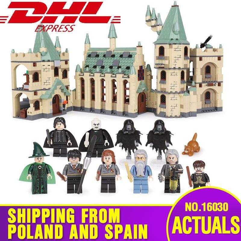 DHL 16030 juguetes creativos películas el castillo construcción bloques ladrillos Compatible con 4842 juguetes de montaje para niños regalos de navidad-in Bloques from Juguetes y pasatiempos    1