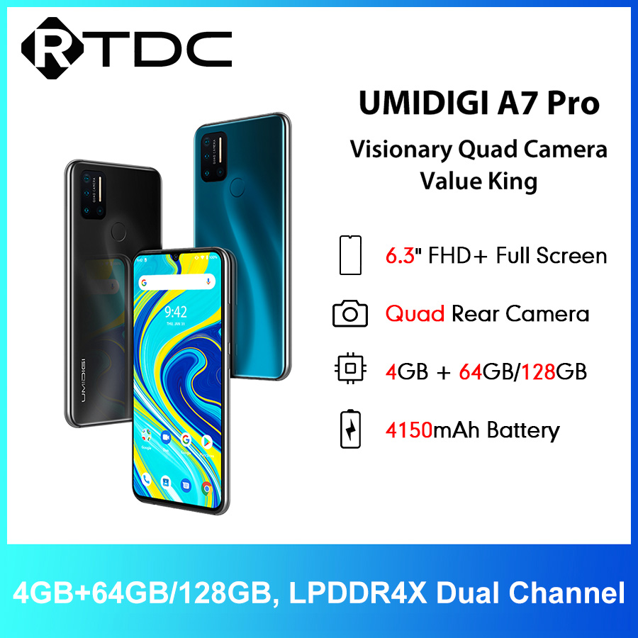 UMIDIGI A7 Pro 6,3