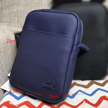 Męska odporna na zachlapanie torba na ramię na 7 9 'ipad Casual Crossbody torby na co dzień biznesowa torba na ramię dla mężczyzn męskie czarne torby tanie i dobre opinie FLAP NYLON CN (pochodzenie) zipper BIZNESOWY
