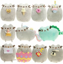 Kawaii cat plush pillow cute Christmas gift toy girl 17CM