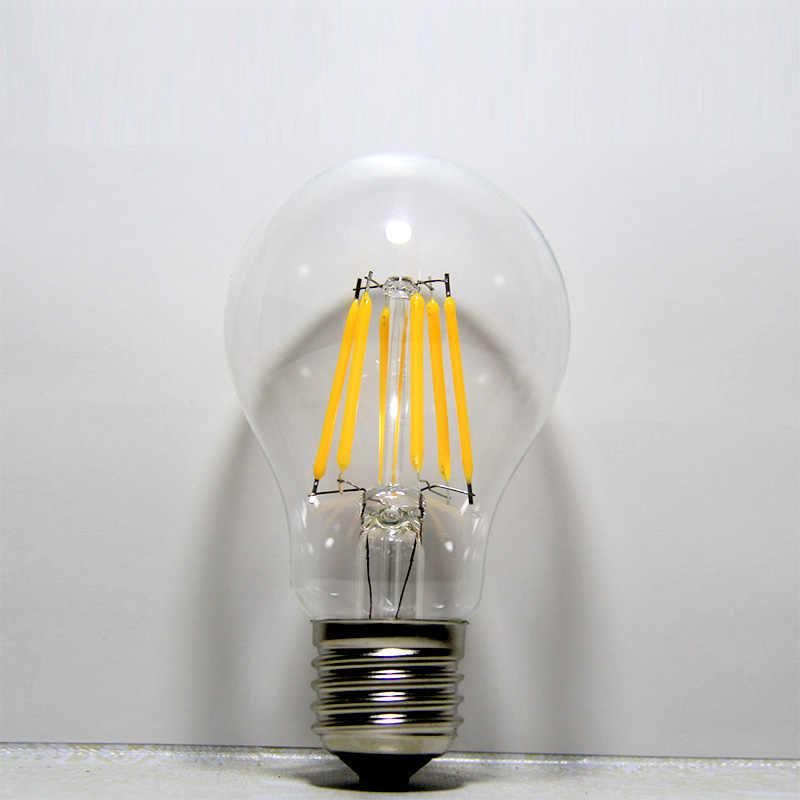 LED Bulb E27 ST64 2W 4W 6W 8W Dimmable E14 Flame Lamp C35 Candle Light Bulb G45 Retro 220V A60 Loft Home Decoration Light
