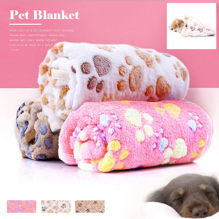 Pet Dog Pad Cat Paw Claw Dog Bed Rug Pet Mat dog Bed Winter Warm Cat Dog Blanket puppy Towel Blanket Sleeping Cover Pet mat