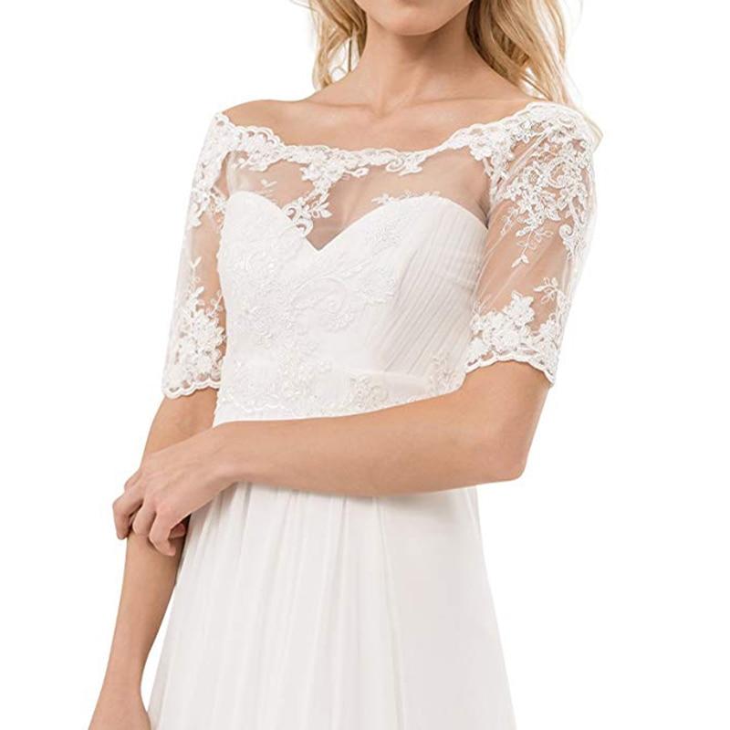 Wedding Bridal Lace Corset Bolero Shrug Jacket Decorated Lace Cropped Bolero Jacket Wedding White Short Wedding Wraps