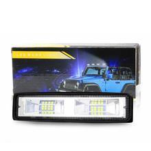 48W LED Car Headlights DC 12-24V Off-road LED Engineering Light Work Light Spotlight For Auto Motorcycle Truck Boat