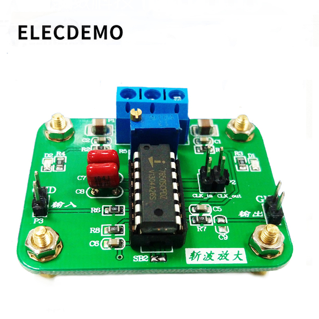 ICL7650 Chopper Stabilized Operational Amplifier Module 2MHz Wide Bandwidth High Gain High Slew Rate