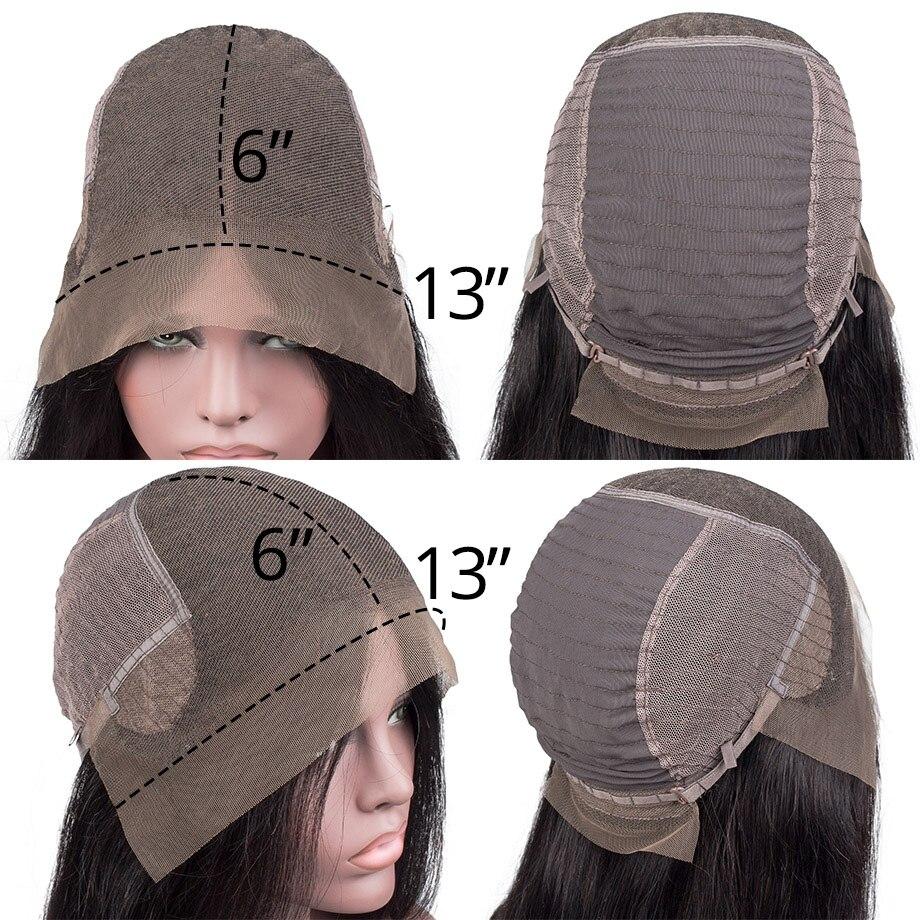 6inch 半蕾丝网帽(6x13) 标注
