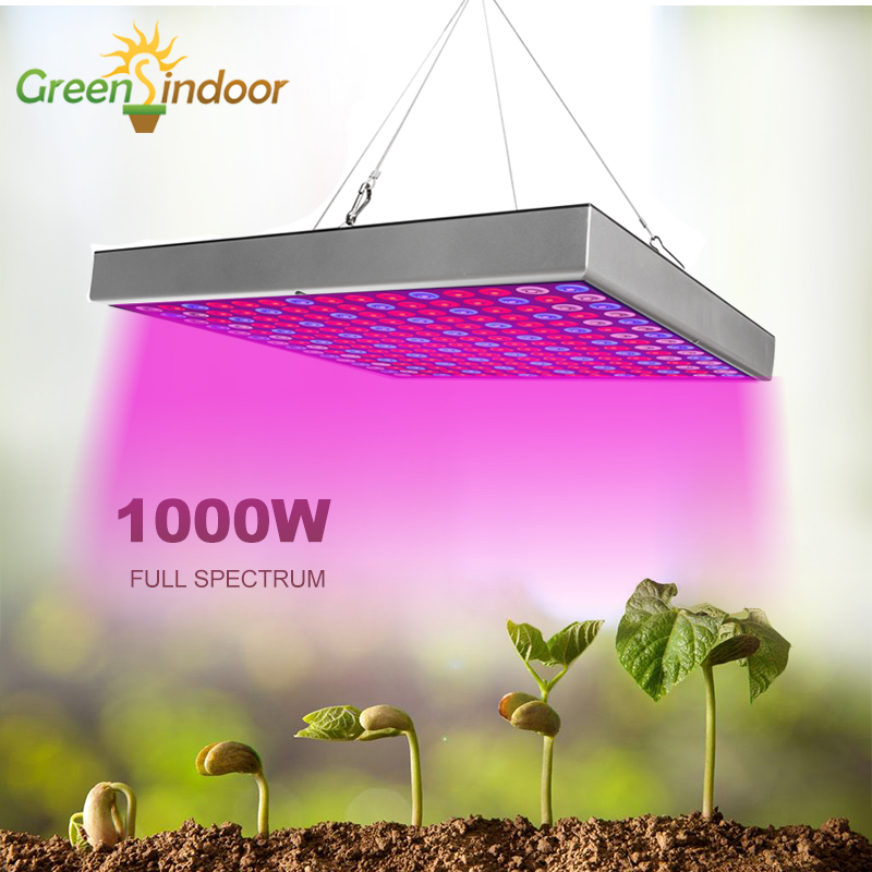Phyto Lamp 1000W Full Spectrum LED Grow Light Lamp For Plants Red Blue White Leds Indoor Growing Seedling Cultivation Fitolamp