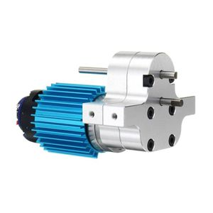 Image 3 - Premium New 370 Brushed Motor with Alloy Heat Sink Gear Box Set for WPL Henglong C14 C24 B14 B24 B16 B36 4x4 6x6 Upgraded Parts