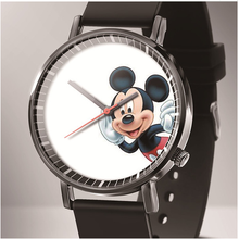 Relojes New Cartoon Children Mickey Mouse Watch Fashion student
