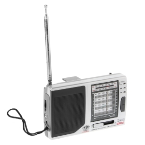 Image 3 - KK 9803 FM/MW/SW1 8 Full 10 Band Hi Sensitivity Radio Receiver With Folding Kickstand