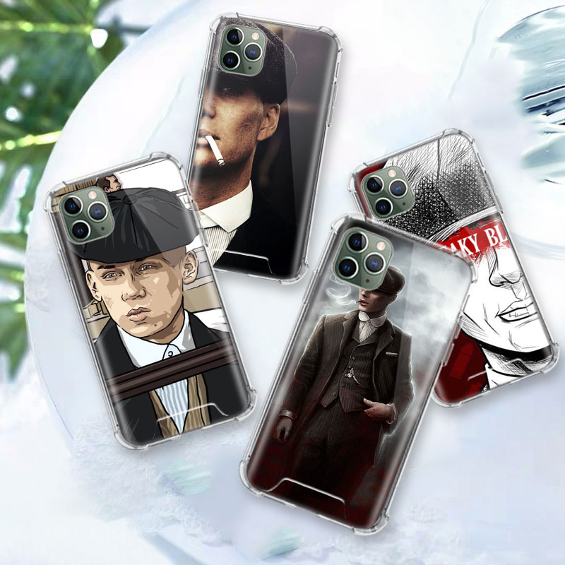 Peaky Blinders Hot Case For Apple Iphone 11 Pro Max XS XR X 8 7 6 6S Plus Clear Soft Airbag Anti Carcasa Phone Coque