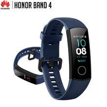 Huawei Honor Band 4 Smart Bracelet 50m impermeabile Fitness Tracker Touch Screen cardiofrequenzimetro chiamata messaggio Show