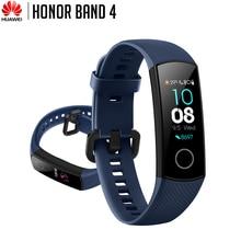 Huawei pulsera inteligente Honor Band 4, resistente al agua hasta 50m, pantalla táctil con frecuencia cardíaca, Monitor de llamadas y mensajes