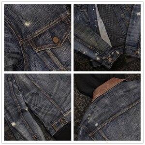 Image 5 - UGLYBROS UBJ 121 Vintage classic denim jacket motorcycle protection jacket motorcycle t shirt for men