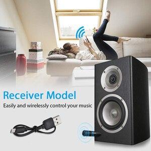 Image 5 - Mini adaptador receptor de Audio y música estéreo con Bluetooth 5,0 para coche, conector auxiliar de 3,5mm, manos libres, para altavoz de coche #2