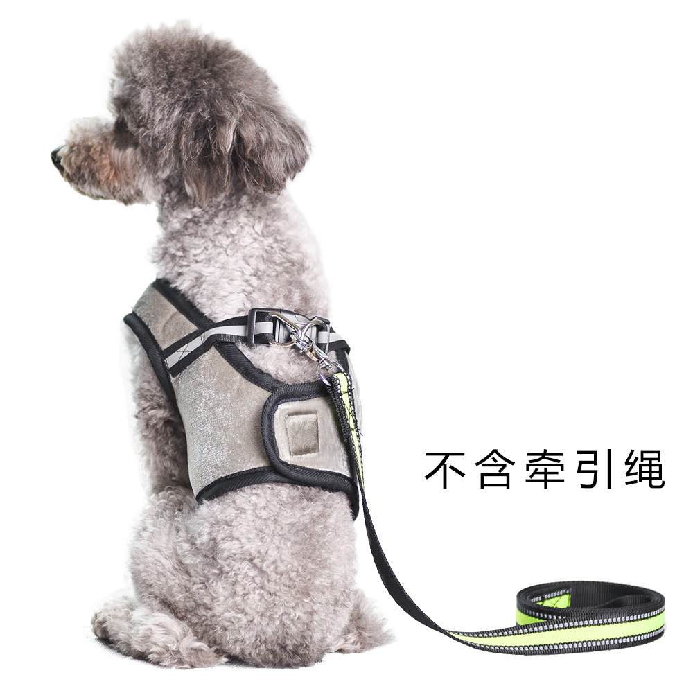 Pet Supplies Dog Hand Holding Rope Chest And Back New Style Pet Vest Style Chest And Back