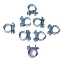 10 шт./компл. 7-9 мм мини-зажим шланг подачи топлива зажимы для шланга воздуха ассортимент набор зажимов для дизельных бензиновых труб