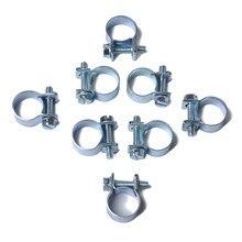 10 pièces/ensemble 7-9mm Mini pince tuyau d'injection de carburant Air colliers de serrage assortiment Kit Diesel essence tuyaux Clips