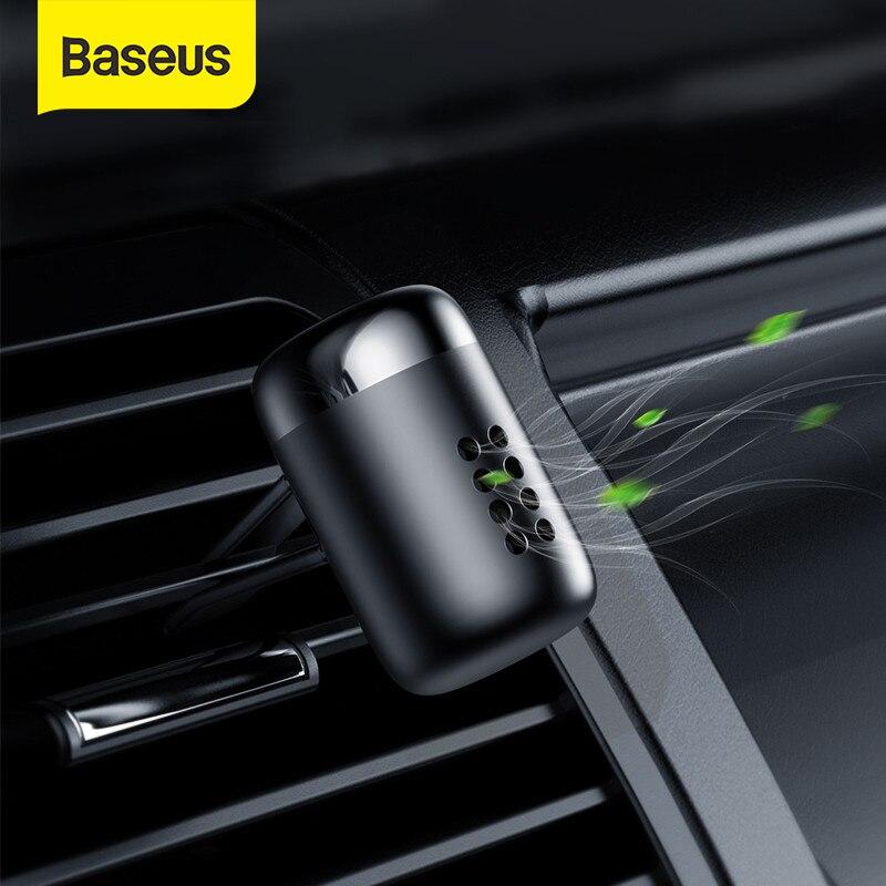 Baseus Metallo Profumo Auto Bevanda Rinfrescante di Aria Aromaterapia Solido per Auto Air Vent Uscita Bevanda Rinfrescante di Aria Condizionata Clip Diffusore