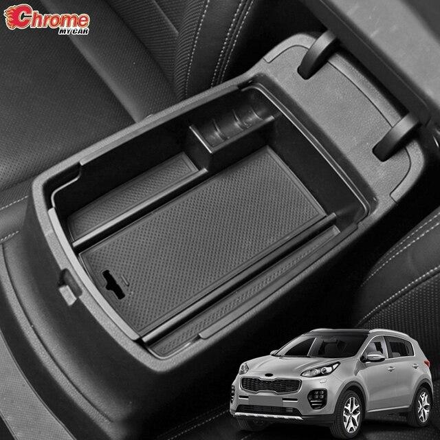 For Kia Sportage QL 2016 2017 2018 2019 2020 Central Console Control Armrest Storage Box Bin Organizer Tray Pallet Holder