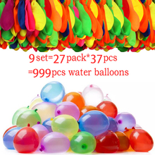 Balloons Swimming-Pool-Game Gift Water-Bomb Kids Summer Play with 999pcs