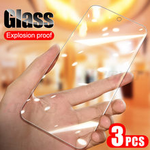 3Pcs/lot Full Tempered Glass For Samsung A50 A30 A10 M30 M20 M10 Screen Protector Film For Galaxy A40 A70 A20E A80 A90 A60 Glass(China)