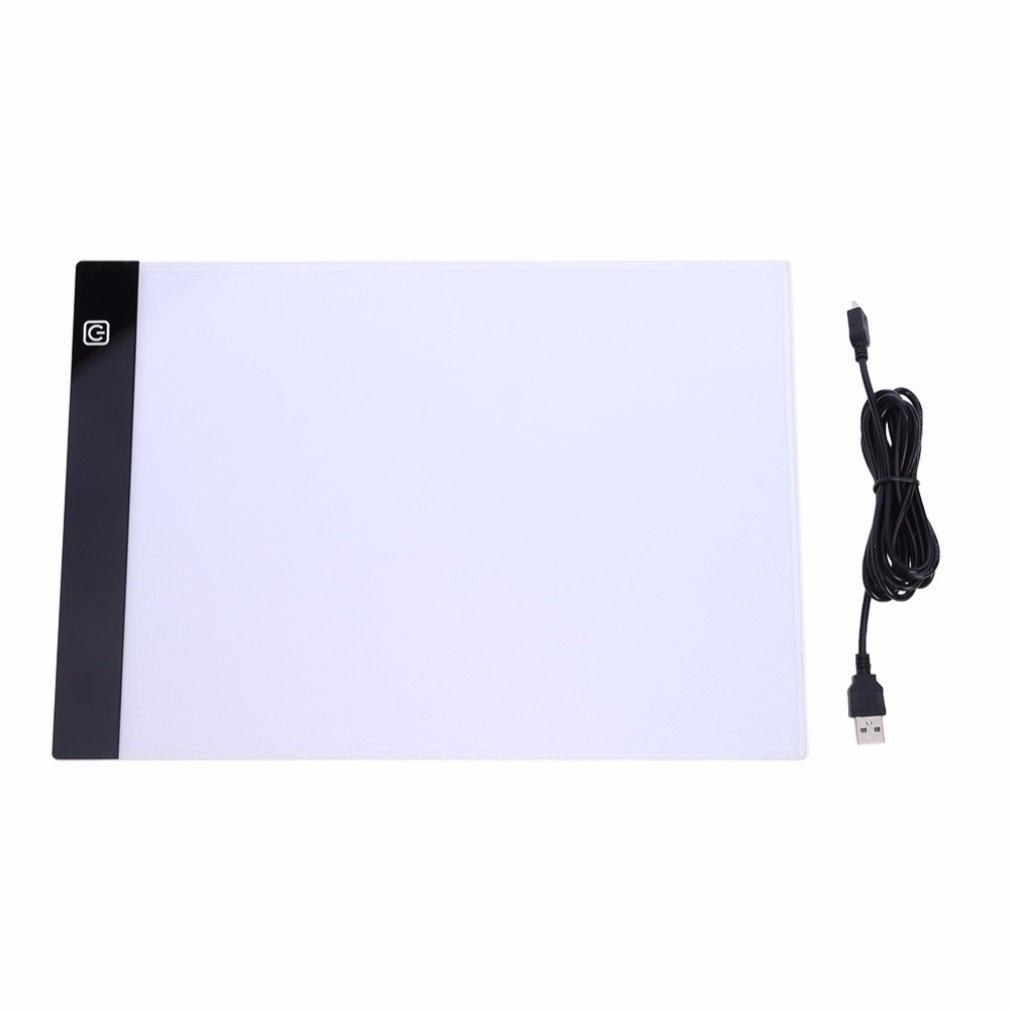 Ultrathin LED Drawing Pad Tablet Drawing Pad Box Board LED Drawing Board USB Powered A4 Copy Station