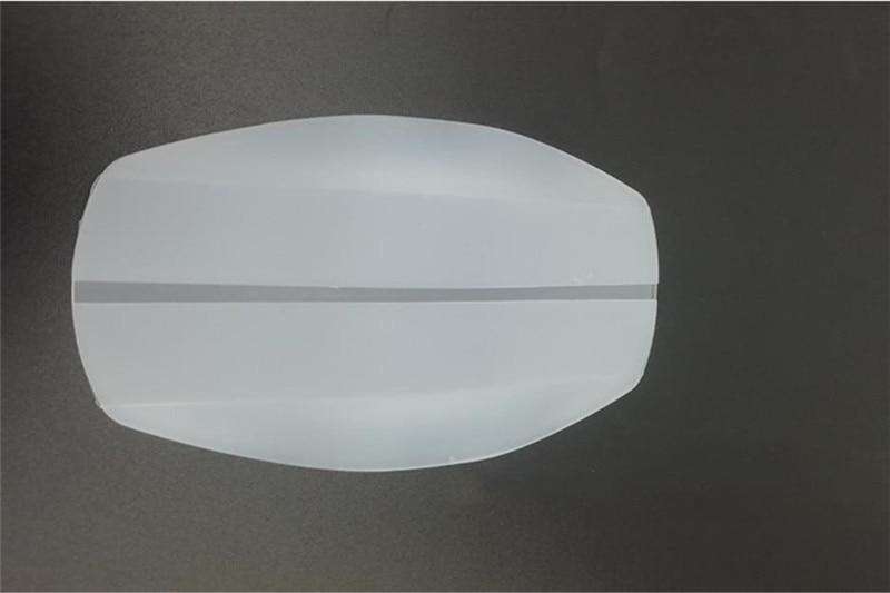 2 шт Наплечные подушечки Бюстгальтер ремень Защита силиконовый противоскользящая Подушка DIY для пошива швейных изделий ремесла аксессуары - Цвет: Pure White