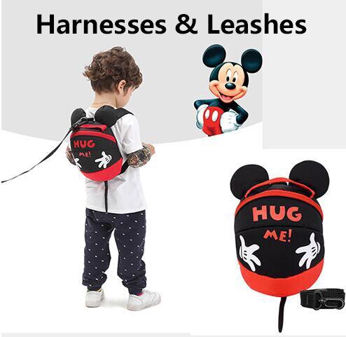Disney Mummy Diaper Bag Maternity Nappy Nursing Bag for Baby Care Travel Backpack Designer Mickey Bags Handbag Gray and Black