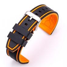 Ремешок силиконовый для наручных часов спортивный браслет samsung