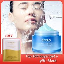 30G EFERO Hyaluronic Acid Shrink Pores Face Serum Moisturizing Whitening Essence Face Cream Anti-Aging Dry Skin Care Day Cream цена 2017