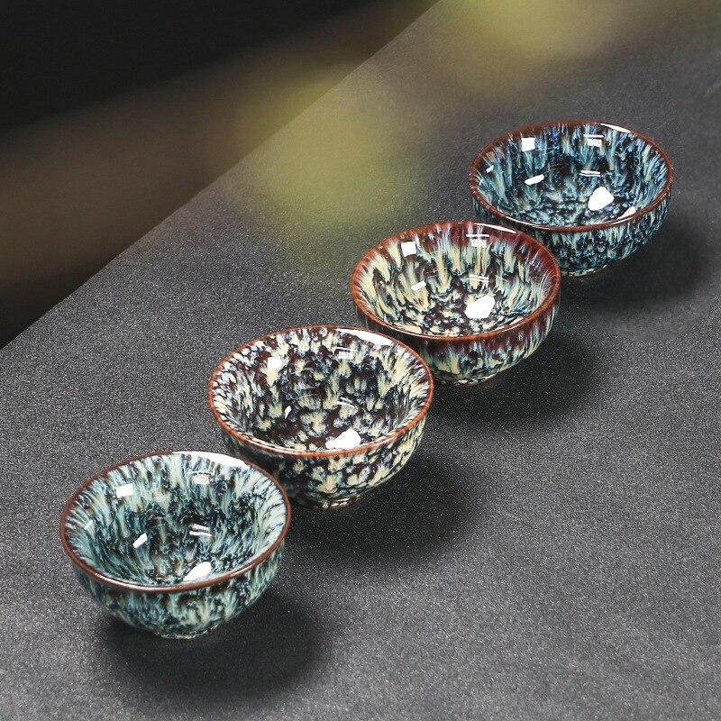 Ceramic China Tea Cup Kiln Change Ceramic Home Tea Cup Creative ceramic cup cups tazas de ceramica creativas I037